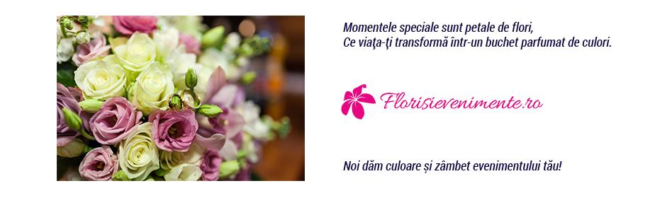 Flori si evenimente